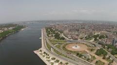 Aerial Havana Cuba Stock Footage