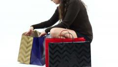 Forgetful Shopper Stock Footage