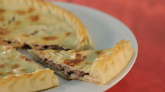 Piece of the Ossetian pie Stock Footage