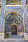 Shiraz Nasir al-Mulk Mosque Cells of heaven Stock Photos