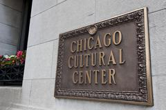 Stock Photo of Chicago Cultural Center
