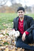 Young Happy Indian Man - stock photo