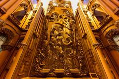 Notre-Dame Basilica - Montreal, Canada - stock photo