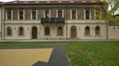 Beautiful building in Baia Mare Stock Footage
