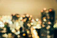 Abstract blur bokeh Tokyo city background Kuvituskuvat