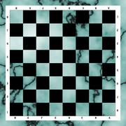 Chessboard black and white Stock Illustration