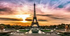 Sunrise of Paris Arkistovideo