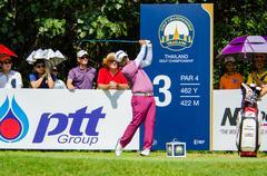 Thailand Golf Championship 2015 - stock photo