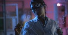 Stock Video Footage of Talented Young Chemist