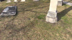 Drummond Hill Graves - stock footage