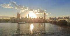 City of Westminster, Day to Night Stock Footage