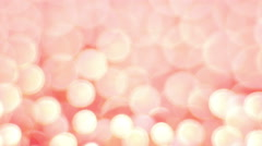 Rotation Light Bokeh Background. Stock Footage
