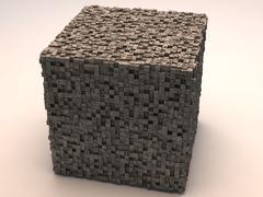 3d model of Sci-Fi Cube