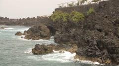 Island coastline (Madeira, Portugal) Stock Footage