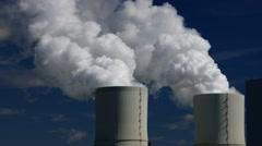 Coal power plant Stock Footage