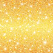 Abstract golden holiday background - stock illustration