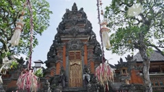 Temple Indonesia slow motion Stock Footage