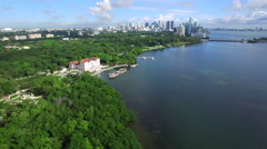 Aerial video Vizcaya Stock Footage