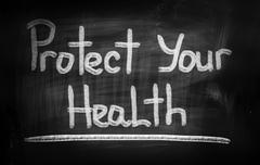 Protect Your Health Concept - stock illustration