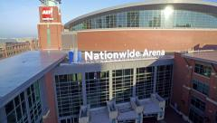 NATIONWIDE ARENA_AERIAL_7 Stock Footage