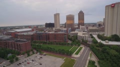 NATIONWIDE ARENA_AERIAL_1 Stock Footage