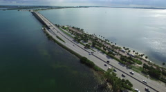 Key Biscayne Miami FL Stock Footage