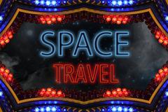 Space travel Stock Illustration