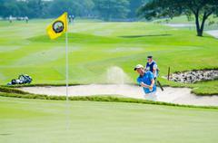Thailand Golf Championship 2015 Stock Photos