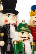 Traditional Figurine Christmas Nutcracker Stock Photos