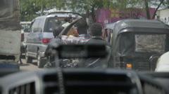 Juba, South Sudan , the streets of Juba - stock footage