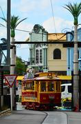 Christchurch Tramway tram system  - New Zealand Stock Photos