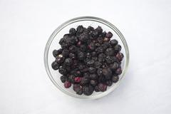 Freeze Dried Blueberries - stock photo