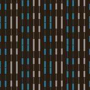 Pattern abstract beads - stock illustration