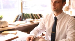 Meeting of business people Stock Footage