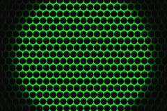 Metal speaker grill texture for using as background. - stock illustration