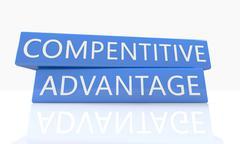 Compentitive Advantage - stock illustration