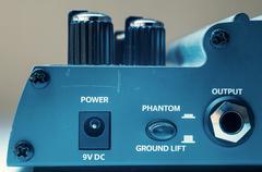 Power Phantom Output - stock photo
