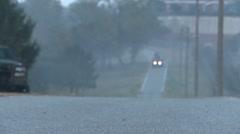 Vigilant Ace, November 2015, US HMVEE Drive Along Road Stock Footage