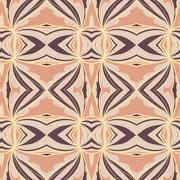 Stock Illustration of Abstract ornament pattern. kaleidoscope effect.