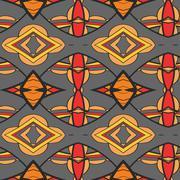 Stock Illustration of Abstract ornament pattern. kaleidoscope effect.