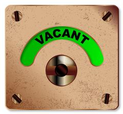 Stock Illustration of Loo Vacant Indicator