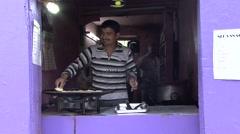 Leh street market. Stock Footage