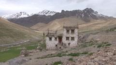 Potoksar himalayan village. Stock Footage