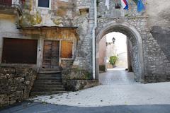 Pican Entrance Arch Stock Photos