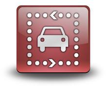 Stock Illustration of Icon, Button, Pictogram Driving Tour