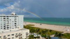 Double Rainbow Stock Footage