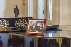 Interior View of Villa Ocampo in San Isidro Buenos Aires Stock Photos