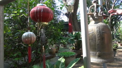 A Temple Bell Stock Footage