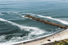 Peruvian Coast Line - stock photo
