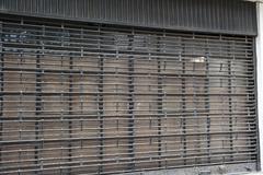 Security Garage Door - stock photo